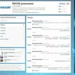 Ravin Twitter interface design