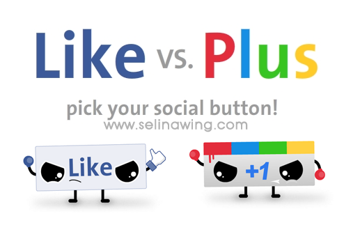 facebook-like-vs-google-plus