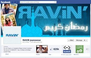 Ravin facebook cove photo design