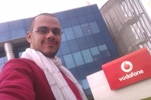Mina Mamdouh at Vodafone HQVodafone HQ
